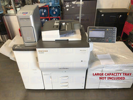 Ricoh Pro C5100S Color Laser Production Printer w/ Booklet Finisher Fiery 65ppm - $6,000.00