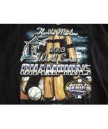 FLORIDA MARLINS 2003 WORLD SERIES CHAMPIONS Sz XL NWT New T-Shirt - $14.24