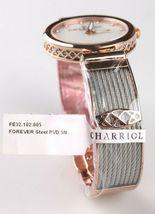 Charriol Women's Forever Diamond Dial Stainless Steel Quartz Watch FE32102005 image 4