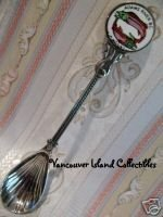 ADAMS RIVER BC. British Columbia FISH Souvenir Spoon