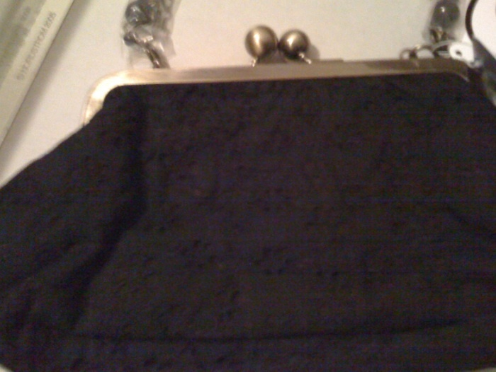 TARA JARMON Target black embroidered BAG purse NWT RARE SOLD OUT