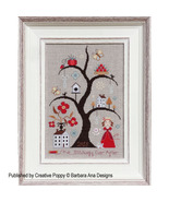 Stitchingly Ever After cross stitch chart Barbara Ana Designs - $10.80