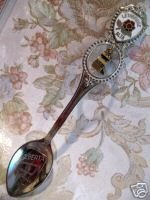 LETHBRIDGE Alberta ELEVATOR CHARM Souvenir Collector Spoon Collectible