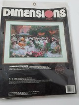 Dimensions Crewel Dinner At The Ritz 1991 Kit 1388 NOS - $16.00
