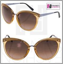 CHRISTIAN DIOR Frozen 1 Cat Eye Transparent Orange Lilac Gradient Sunglasses - $267.30