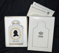 George Washington Royal Copenhagen Bicentennial 1976 Porcelain Tea Box C... - $59.39