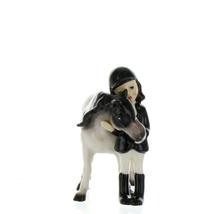 Hagen Renaker Specialty Horse Girl with Pinto Pony Ceramic Figurine image 11