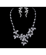 New Luxurious Jewelry Bridal Wedding Accessories Micro Paved CZ - $109.99+