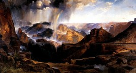 The Chasm Of The Colorado 1873 American Landscape Painting By Thomas Moran Repro - $10.96+