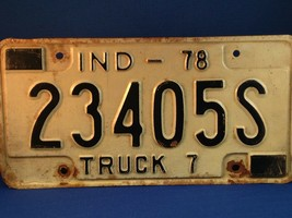 Indiana License Plate - Several Years Available - $9.89