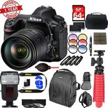 Nikon D850 DSLR Camera with 24-120mm VR Lens Dual Battery Accessory Bundle - $4,348.22