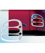 97-03 FORD F-150 FLARESIDE QAA Chrome ABS plastic 2pcs Tail Light Bezels... - $79.19