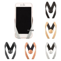 M Type Car Air Vent Mount Cell Phone Holder Stand For iPhone Samsung RCAI - £3.84 GBP
