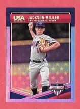 2018 Jackson Miller Panini Stars & Stripes Rookie Platinum 06/10 - $14.24