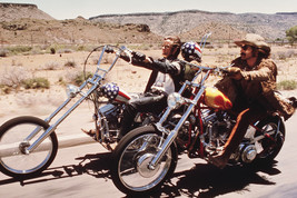 "Easy Rider Peter Fonda Dennis Hopper ride ""Captain America"" Chopper 18x24 Poster - $23.99"