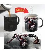 Kratos God of War Movie Magic Mug Color Change Coffee Mug 11 Oz for Gift - $16.78
