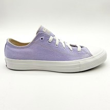 Converse Chuck Taylor All Star Ox Renew Moonstone Violet White Womens 166744C - $64.95