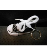 """High Top Cloth Black Sneaker Keychain 3"""" NEW NO TAGS - $6.19"""