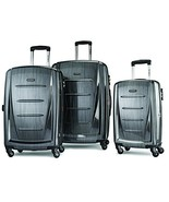 Samsonite Winfield 2 3PC Hardside 20/24/28 Luggage Set, Charcoal - $248.22