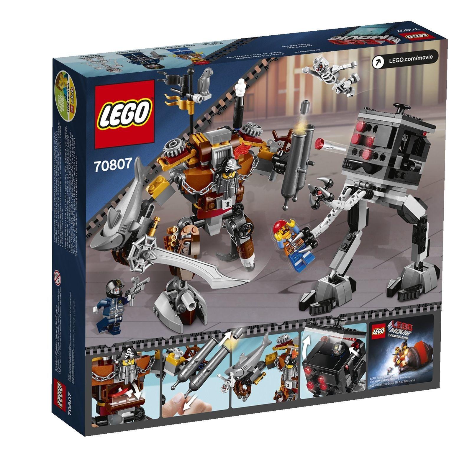 LEGO Movie 70807 MetalBeard's Duel [New] Building Toy Kit