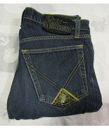 Roy Rogers Deluxe 31 X 29 Womens Blue Jeans Made In Italy Button Fly - $24.99