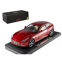 Super Elite Ferrari FF 1/18 Diecast Car Model by Hotwheels X5490 - $233.54