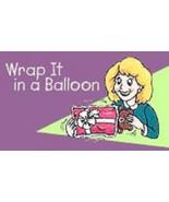 RARE - Magic Gift Stuffing Balloon Gift Wrap - $7.87