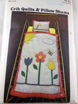 Butterick 4571 Infant's Crib Quilts & Pillow Shams Uncut Factory Folded - $6.92