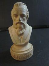 """VINTAGE HALBE COMPOSER 4-1/2"""" BUST BRAHAMS 1833-1897 - $9.99"""