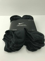 Nike Everyday Plus 3-6 Pairs Pack No Show Cotton  Dri-Fit Socks Mens 8-12 Womens image 2