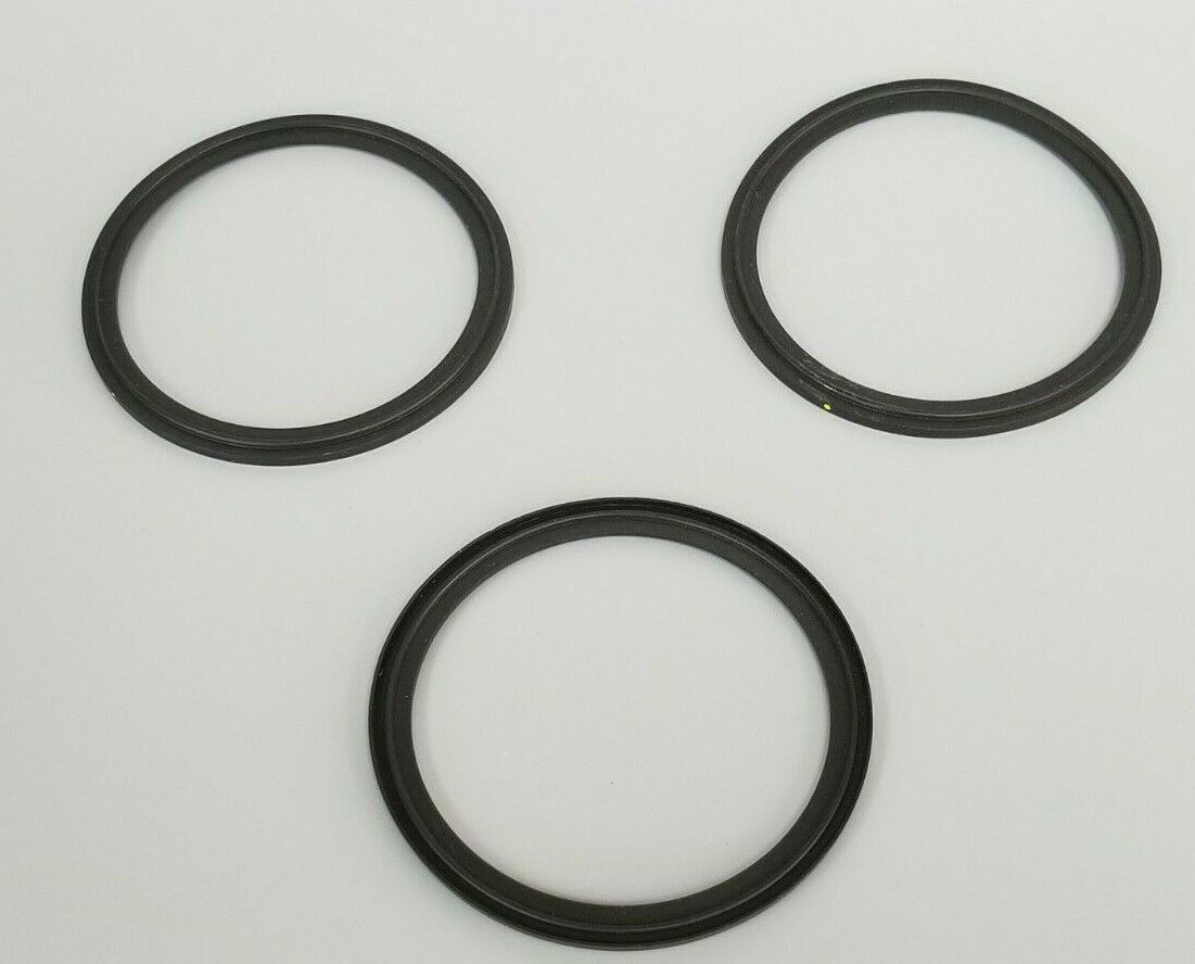 LOT OF 3 NEW A3 0-40MVF-SFY FLANGED CLAMP VITON GASKETS 4""