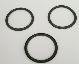 "LOT OF 3 NEW A3 0-40MVF-SFY FLANGED CLAMP VITON GASKETS 4"" image 1"