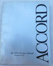 B- 1994 Honda Accord Workshop Service Repair Manual Supplement OEM Deale... - $12.38