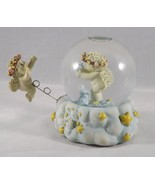 Westland Dreamsicles Cherub Snow Globe w/ Attached Outside Cherub #D6515... - $33.24