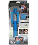 itek by Sound Logic Selfie Stick 3 Piece Set - $10.86