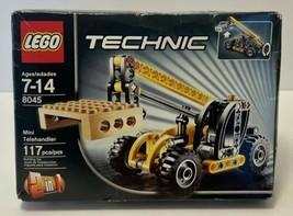 Lego Technic #8045, 2 in 1, Telehandler - Motorcycle w/ Sidecar, 2010 Se... - $43.54