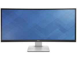 """Dell UltraSharp U3415W 34"""" WQHD Curved Screen LED LCD Monitor, 3440 x 14... - $738.99"""