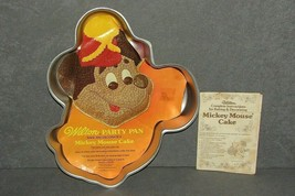Wilton Cake Pan: Mickey Mouse [w/ Insert + Book] 515-302 - $11.00