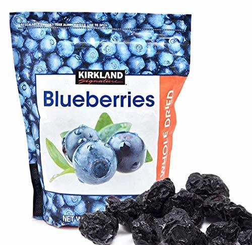 Primary image for Kirkland Signature Whole Dried Blueberries (Resealable Bag) (PACK OF 4)