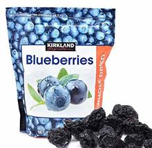 Kirkland Signature Whole Dried Blueberries (Resealable Bag) (PACK OF 4) - $59.39