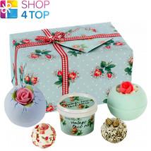 Petal Perfect Gift Pack Bomb Cosmetics Floral Jasmine Handmade Natural New - $17.86