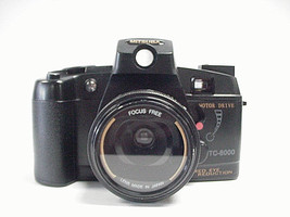 Mitsuba TC-80000 Motor Drive 35mm Camera with Built-in Flash - $17.81