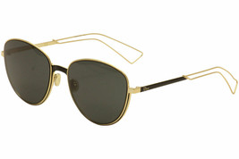 NEW Christian Dior Women's Ultradior/S RCW/Y1 Gold/Matte Black Sunglasse... - $256.83