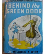 Penny Parker mystery #4 BEHIND THE GREEN DOOR Mildred Wirt hcdj Format 1 - $30.00