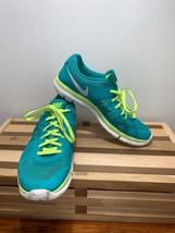 Nike Flex 2014 Running Shoes Women's Size 9 Green White 642767-300 - $29.99