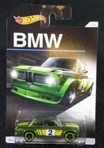 2016  Hot Wheels   Green BMW 2002  Walmart BMW Series #4   HW-31 - $2.25
