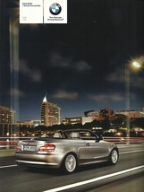 2009 BMW 1-SERIES Convertible brochure catalog 09 US 128i 135i - $8.00