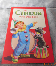 The Circus Paper Doll Book - $5.00