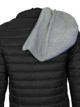 Maximos Men's Slim Fit Lightweight Zip Insulated Packable Puffer Hooded Jacket image 13