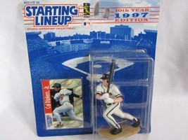 1997 Kenner Starting Lineup Cal Ripken Jr #8 - Orioles Action Figure & Card  - $14.84